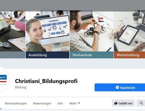 Christiani jetzt auch auf Facebook