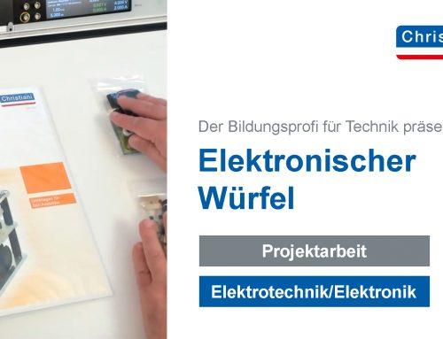 """Video zur Projektarbeit """"elektronischer Würfel"""""""