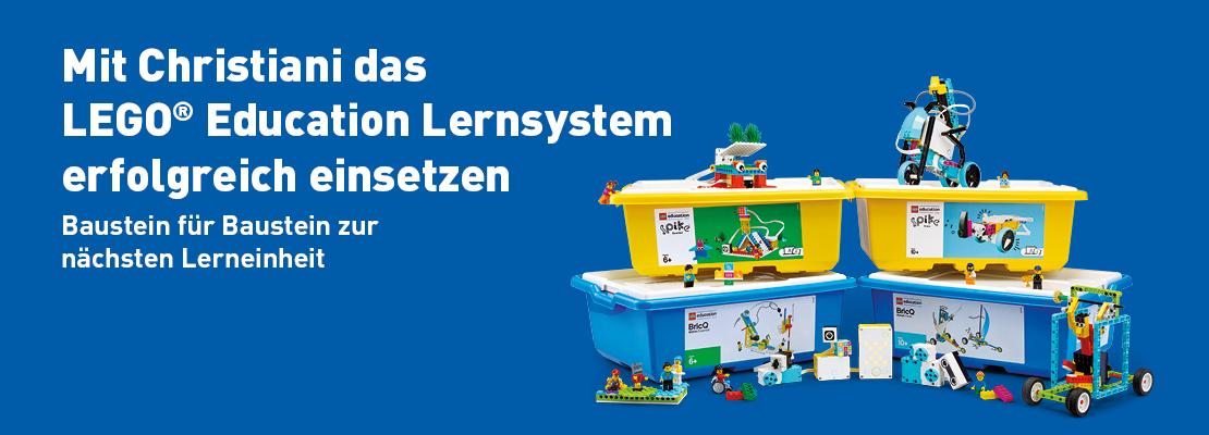 LEGO® Education Lernsystem für Grund- und weiterführende Schulen